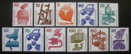 Poštovní známky Nìmecko 1971-74 Prevence nehod komplet Kat 17.50€