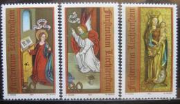 Poštovní známky Lichtenštejnsko 1991 Vánoce Mi# 1027-29