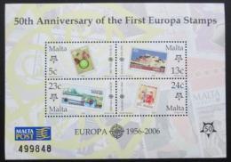 Poštovní známky Malta 2006 Evropa CEPT Mi# Block 32