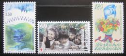 Poštovní známky Lichtenštejnsko 1995 Výroèí Mi# 1105-07