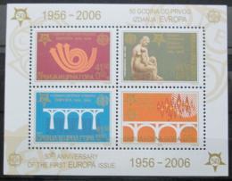 Poštovní známky Srbsko 2005 Výroèí Evropa CEPT Mi# Block 60