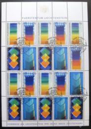 Poštovní známky Lichtenštejnsko 1998 Umìní Mi# 1167-70 Kat 32.50€