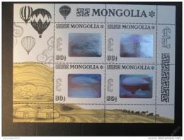 Poštovní známky Mongolsko 1993 Vzducholoï nad mìstem Mi# 2482