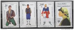 Poštovní známky Kypr Tur. 1987 Lidové kroje Mi# 207-10