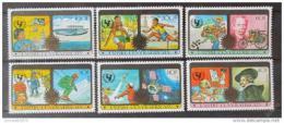 Poštovní známky SAR 1979 Mezinárodní rok dìtí Mi# 606-11