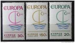 Poštovní známky Kypr 1966 Evropa CEPT Mi# 270-72