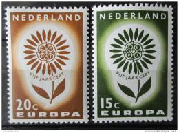 Poštovní známky Nizozemí 1964 Evropa CEPT Mi# 827-28