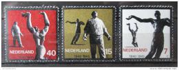 Poštovní známky Nizozemí 1965 Sochy Mi# 836-38