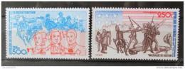 Poštovní známky Senegal 1975 Americká revoluce Mi# 577-78