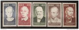 Poštovní známky DDR 1967 Slavné osobnosti Mi# 1293-97