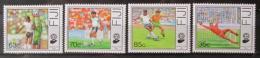 Poštovní známky Fidži 1989 MS ve fotbale Mi# 606-09 Kat 12€
