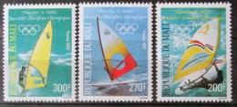 Poštovní známky Mali 1982 Windsurfing Mi# 941-43