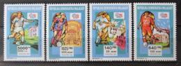 Poštovní známky Madagaskar 1992 MS ve fotbale Mi# 1399-1402