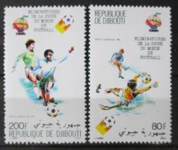 Poštovní známky Džibutsko 1981 MS ve fotbale Mi# 290-91