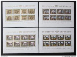 Poštovní známky Lichtenštejnsko 1978 Hrad Vaduz Mi# 706-9 Kat 50€