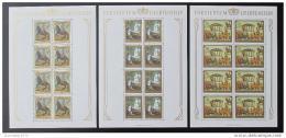 Poštovní známky Lichtenštejnsko 1978 Umìní Mi# 717-19 Kat 50€