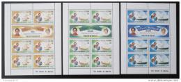 Poštovní známky Montserrat 1981 Královská svatba Mi# 465-70