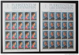 Poštovní známky Lichtenštejnsko 1985 Královský pár Mi# 864-65 Kat 120€