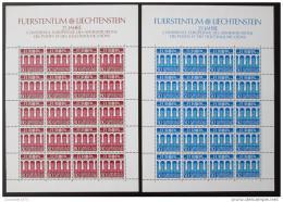 Poštovní známky Lichtenštejnsko 1984 Evropa Mi# 837-38 Kat 40€