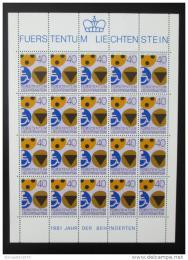 Poštovní známka Lichtenštejnsko 1981 Rok postižených Mi# 774