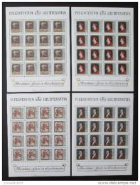 Poštovní známky Lichtenštejnsko 1981 Umìní Mi# 784-87 Kat 80€