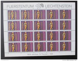 Poštovní známky Lichtenštejnsko 1981 Svatý Theodul Mi# 775 Kat 26€