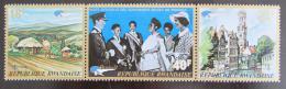 Poštovní známky Rwanda 1972 Výstava BELGICA Mi# 510-12