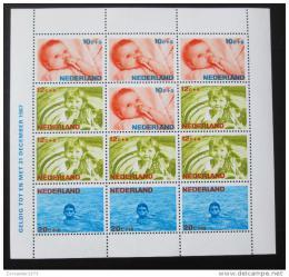 Poštovní známka Nizozemí 1966 Dìti Mi# Block 5