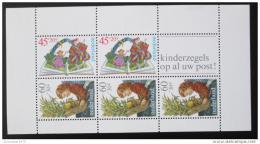 Poštovní známka Nizozemí 1980 Dìti a knihy Mi# Block 21