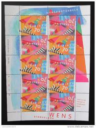 Poštovní známka Nizozemí 1993 Pozdravy Mi# 1462-63