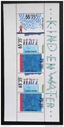 Poštovní známka Nizozemí 1988 Dìti a voda Mi# Block 32
