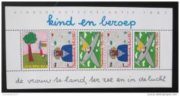 Poštovní známka Nizozemí 1987 Dìti a práce Mi# Block 30