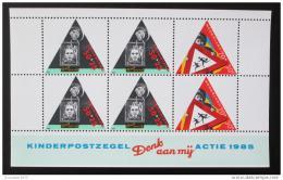 Poštovní známka Nizozemí 1985 Bezepeènost silnièního provozu Mi# Block 28