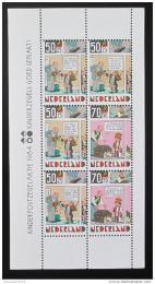 Poštovní známka Nizozemí 1984 Dìti a komiks Mi# Block 27