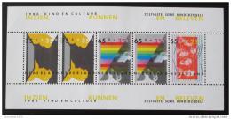 Poštovní známka Nizozemí 1986 Dìti a kultura Mi# Block 29