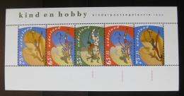 Poštovní známka Nizozemí 1990 Dìti a jejich koníèky Mi# Block 34