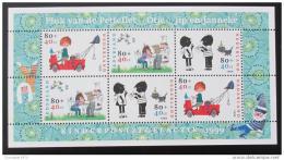 Poštovní známka Nizozemí 1999 Postavy z knih Mi# Block 62