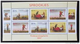 Poštovní známka Nizozemí 1997 Pohádky Mi# Block 54