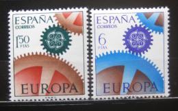 Poštovní známky Španìlsko 1967 Evropa CEPT Mi# 1682-83