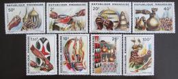 Poštovní známky Rwanda 1979 Øemeslná umìní Mi# 1002-09