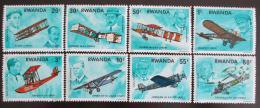 Poštovní známky Rwanda 1978 Historie letectví Mi# 952-59