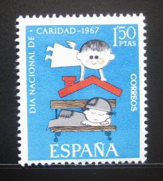Poštovní známka Španìlsko 1967 Den charity Mi# 1688