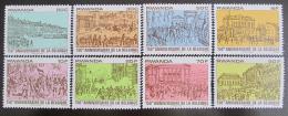 Poštovní známky Rwanda 1980 Nezávislost Belgie Mi# 1077-84