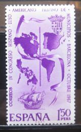 Poštovní známka Španìlsko 1967 Kongres menšin Mi# 1710