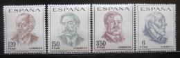 Poštovní známky Španìlsko 1967 Slavní muži Mi# 1724-27