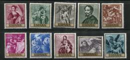 Poštovní známky Španìlsko 1969 Umìní, Cano Mi# 1796-1805