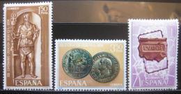 Poštovní známky Španìlsko 1968 Založení Leónu Mi# 1760-62