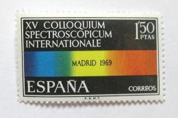 Poštovní známka Španìlsko 1969 Barevné spektrum Mi# 1812