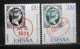 Poštovní známky Španìlsko 1969 Den známek Mi# 1809-10