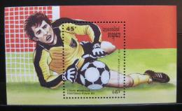 Poštovní známka Kambodža 1989 MS ve fotbale Mi# Block 162